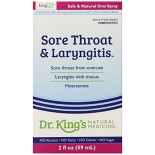 [King Bio] Healthy Immune Sore Throat & Laryngitis