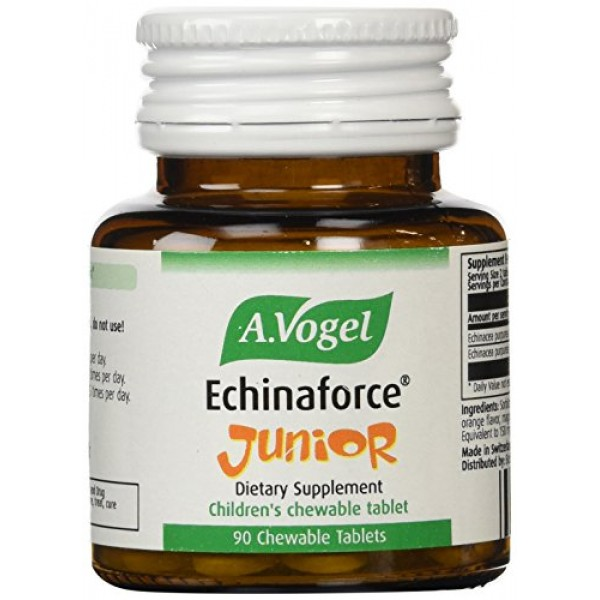 [A Vogel]  Echinaforce Junior, Chewable