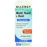 [Bio-Allers] Natural Homeopathic Medicine Mold, Yeast & Dust