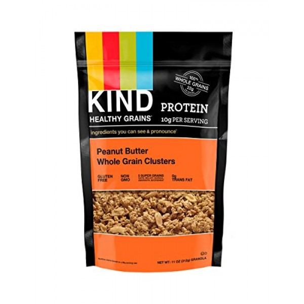 [Kind] Healthy Grains Peanut Butter WG Clusters