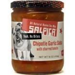 [Salpica] Salsas Garlic Chipotle Salsa, Hot