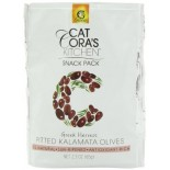 [Gaea] Greek Olives/Capers Snack Pack, Kalamata, Pitted