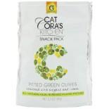 [Gaea] Olives Snack Pack, Green w/Oreg&Lem
