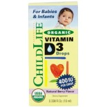 [Childlife-Nutrition For Kids]  Vitamin D3 Drops  At least 95% Organic