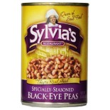 [Sylvias] Canned Vegetables/Tomatoes Black Eye Peas