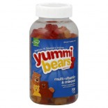 [Hero Nutritionals] Yummi Bears Multi Vitamin & Minerals, Value Sz