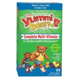 [Hero Nutritionals] Yummi Bears Multi Vit & Mineral, Vegetarian