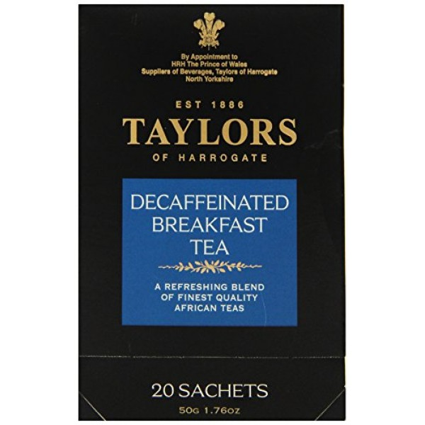 [Taylors Of Harrogate] Bagged Teas Breakfast, Decaffinated