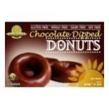 [Kinnikinnick Foods] Donuts Chocolate Dipped, GF