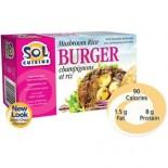 [Sol Cuisine] Vegan Burger Mushroom Rice