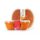 [Preserve] Food Storage Sandwich, Orange