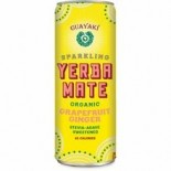[Guayaki] Sparkling Yerba Mate Grapefruit Ginger FT  At least 95% Organic