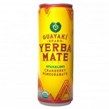 [Guayaki] Sparkling Yerba Mate Cranberry Pomegranate FT