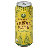 [Guayaki] Organic Energy Mate Drinks Enlighten Mint FT  At least 95% Organic