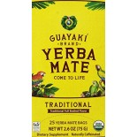 [Guayaki] Yerba Mate Traditional, Bags FT  At least 95% Organic
