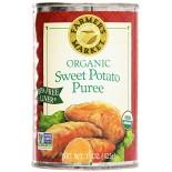 [Farmers Market] Canned Vegetables Sweet Potato Puree  100% Organic