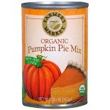 [Farmers Market] Canned Vegetables Pumpkin Pie Mix  At least 95% Organic