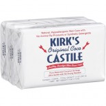 [Kirk`S] Castile Bar Soap Original, 3 Pack