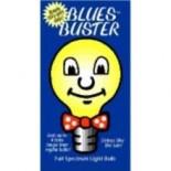 [Blues Buster] Full Spectrum Light Bulbs Frosted 75 Watt