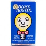 [Blues Buster] Full Spectrum Light Bulbs Frosted 60 Watt