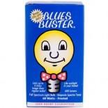 [Blues Buster] Full Spectrum Light Bulbs Frosted 60 Watt