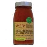 [Lucini Italia] Pasta Sauce Sicilian Olive & Wild Caper
