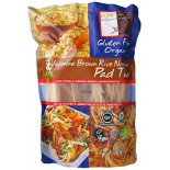 [Explore Asian] Gluten Free Jasmine Rice Pasta Brown, Pad Thai Noodles  At least 95% Organic