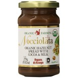[Nocciolata] Nut Butters Hazelnut w/Cocoa & Milk  At least 95% Organic