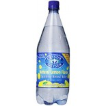 [Crystal Geyser] Mineral Water, Liter Lemon