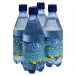 [Crystal Geyser] Mineral Water, 18 oz Lime
