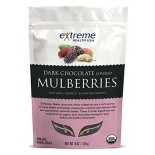 [Extreme Health Usa]  Mulberries, Dark Chocolate  At least 95% Organic