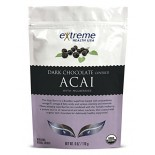 [Extreme Health Usa]  Dark Chocolate Acai w/Mulberries  At least 95% Organic
