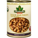 [Bioitalia]  Beans, Black Eye  At least 95% Organic