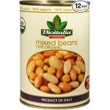 [Bioitalia] Canned Beans Mixed Beans  At least 95% Organic