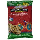 [Immaculate Baking Co.] Cookies Cookie Dough, Chocolate Chunk  At least 70% Organic