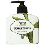 [Nourish]  Hand Wash  Pure Unscented  At least 95% Organic