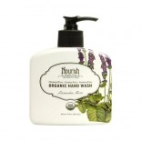 [Nourish]  Hand Wash  Lavender Mint  At least 95% Organic