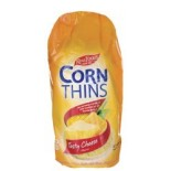[Real Foods] Corn Thins Tasty Cheese Flavored
