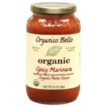 [Organico Bello] Pasta Sauce Spicy Marinara  At least 95% Organic