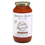 [Monte Bene] All Natural Pasta Sauces Garlic Marinara