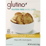 [Glutino] Crackers Bagel Chips,Parmesan Garlic