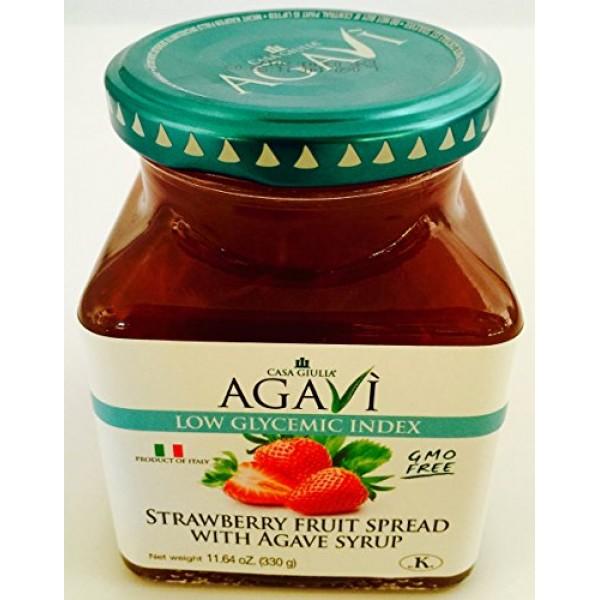 [Casa Giulia Agavi] Low Glycemic Fruit Spreads Strawberry