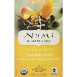 [Numi Tea] White Tea Orange Spice  At least 95% Organic