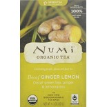 [Numi Tea] Green Teas Decaf Ginger Lemon  At least 95% Organic