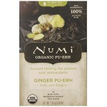 [Numi Tea] Puerh Teas Ginger  At least 95% Organic