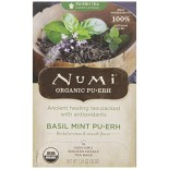 [Numi Tea] Puerh Teas Basil Mint  At least 95% Organic