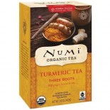 [Numi Tea] Organic Turmeric Tea Three Roots,Ginger,Licrc,Rose