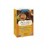 [Numi Tea] Organic Turmeric Tea Gldn Tonic,Lemon Verbena,Lime  At least 95% Organic