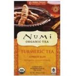 [Numi Tea] Organic Turmeric Tea Amber Sun,Robois,Cinn,Vanilla  At least 95% Organic