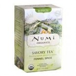 [Numi Tea] Savory Teas Fennel Spice  At least 95% Organic